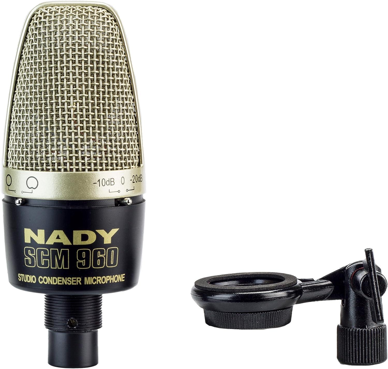 B000R4LQ5W Nady SCM-960 Large Diaphragm Microphone with Pattern Selection 81YXquogliL