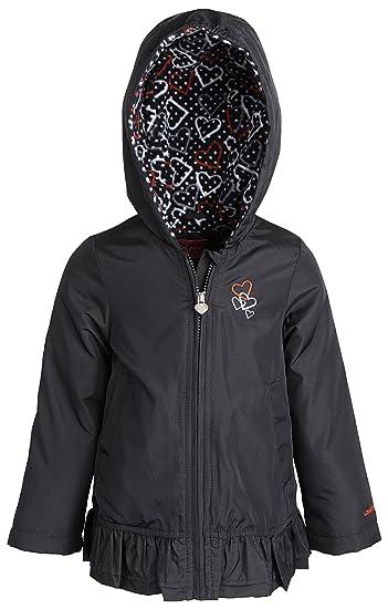 b42076b94adf Amazon.com  London Fog Little Girls Fleece Lined Windbreaker Jacket ...