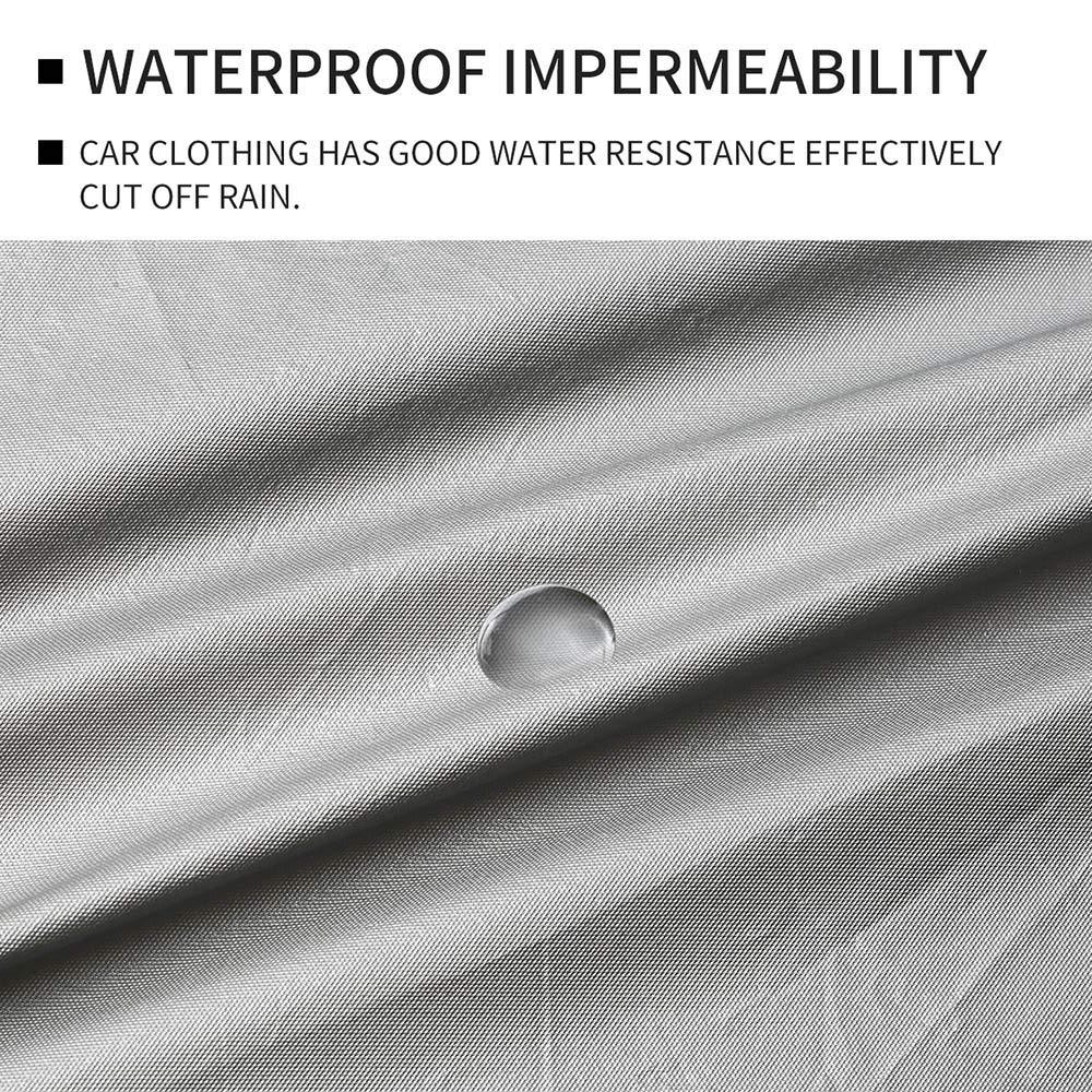Funda para Sed/án Exterior Resistente al Viento a Los Rayos UV /última versi/ón Cubierta Impermeable de Tama/ño Completo 3XXL a la Nieve : 5.3 * 2 * 1.5m a la Lluvia VISLONE Funda de Coche