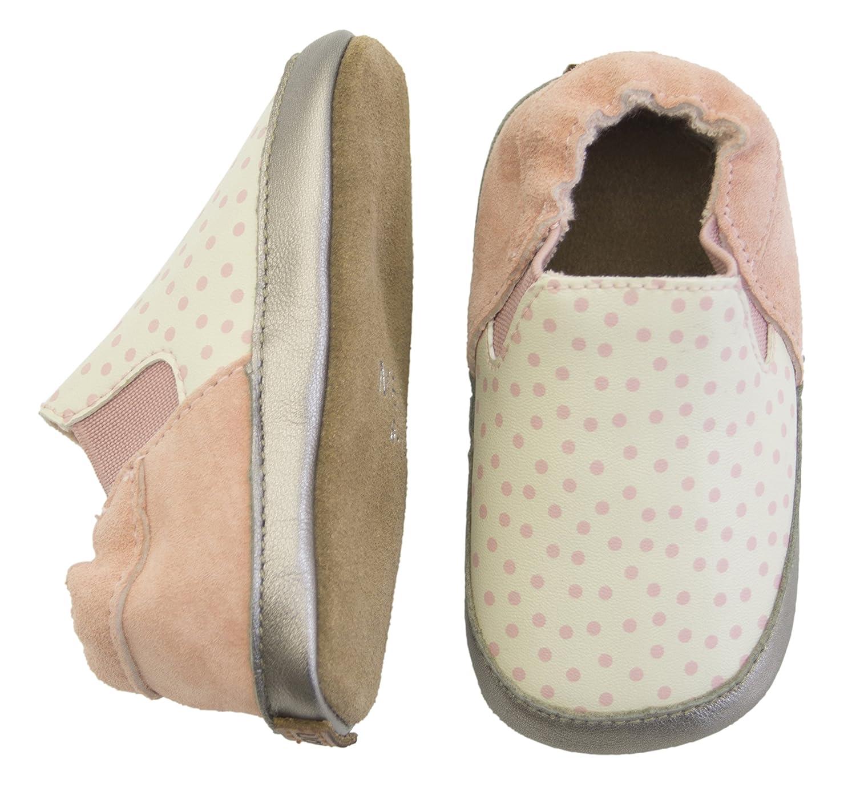 Melton Krabbelschuh Pü nktchen Aus Weichem Leder, Zapatillas de Estar por casa para Bebé s Zapatillas de Estar por casa para Bebés 400056