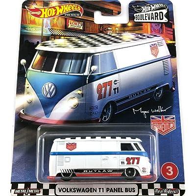 Hot Wheels 2020 Boulevard Series Volkswagen T1 Panel Bus Real Riders: Toys & Games