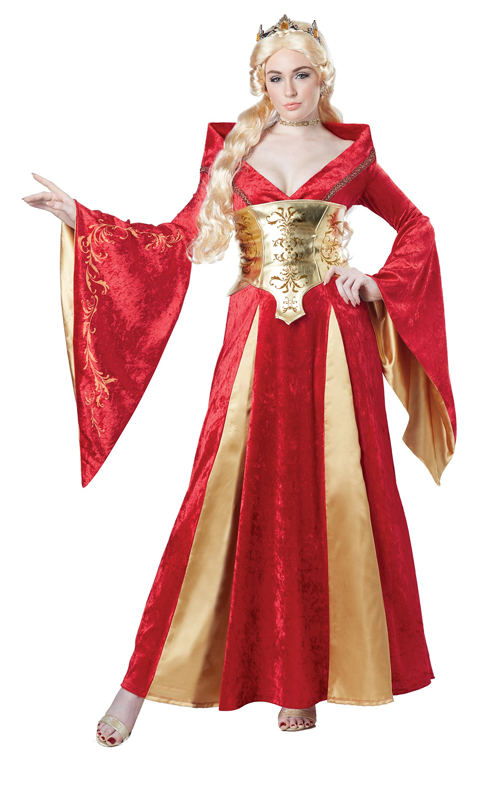 California-Costumes-Medieval-Queen-Adult-Costume