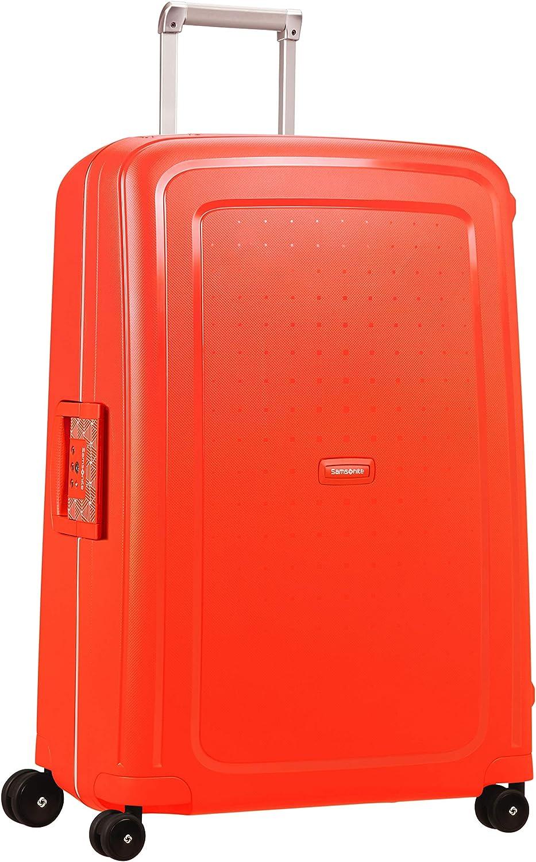 Samsonite Collection_Name Maleta de Equipaje, Spinner L (75 cm - 102 L), Fluo Red Capri