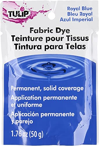 Tulip 26586 Permanent Fabric Dye- Royal Blue