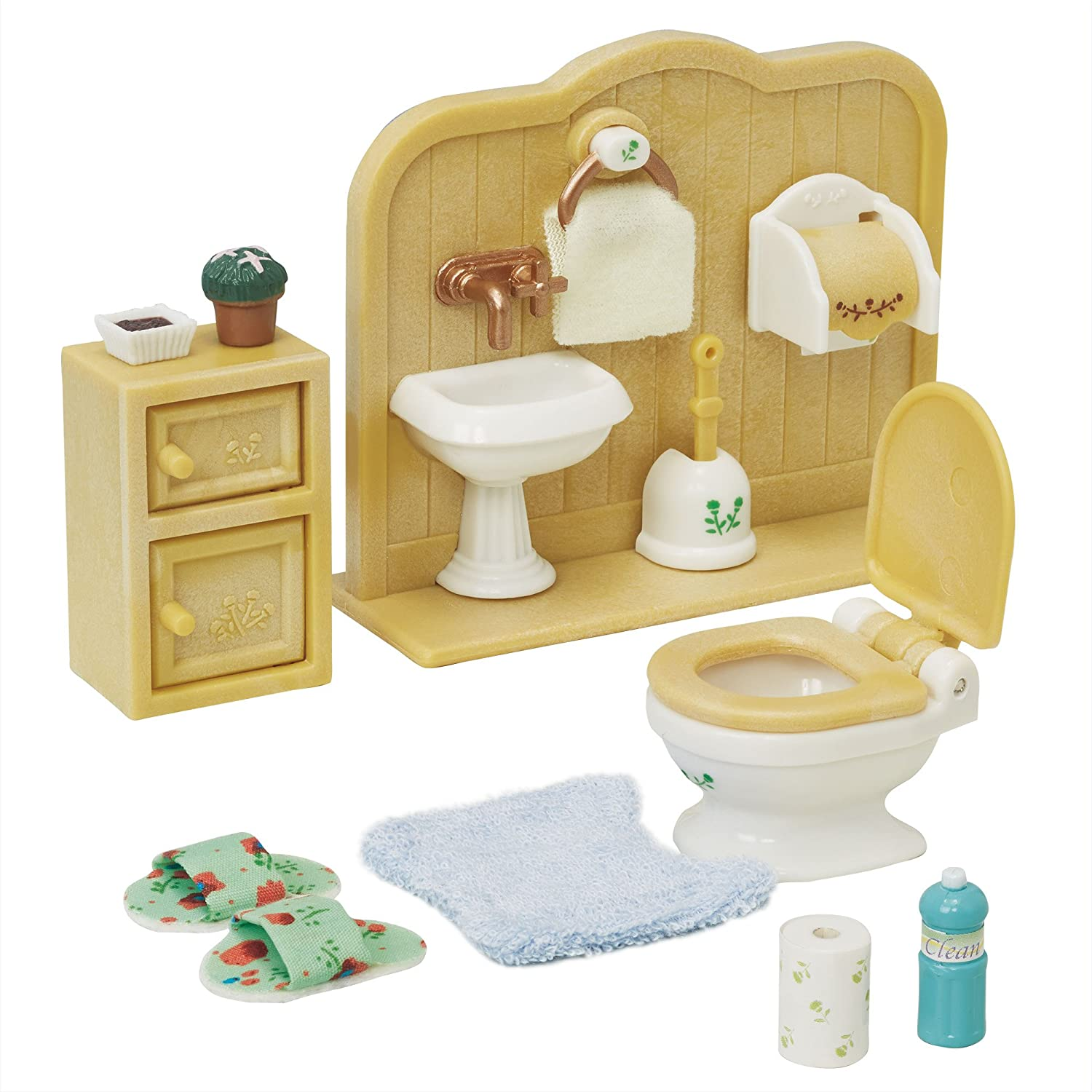 Sylvanian Families Country Bathroom Set Cheap Toys Kids Toys