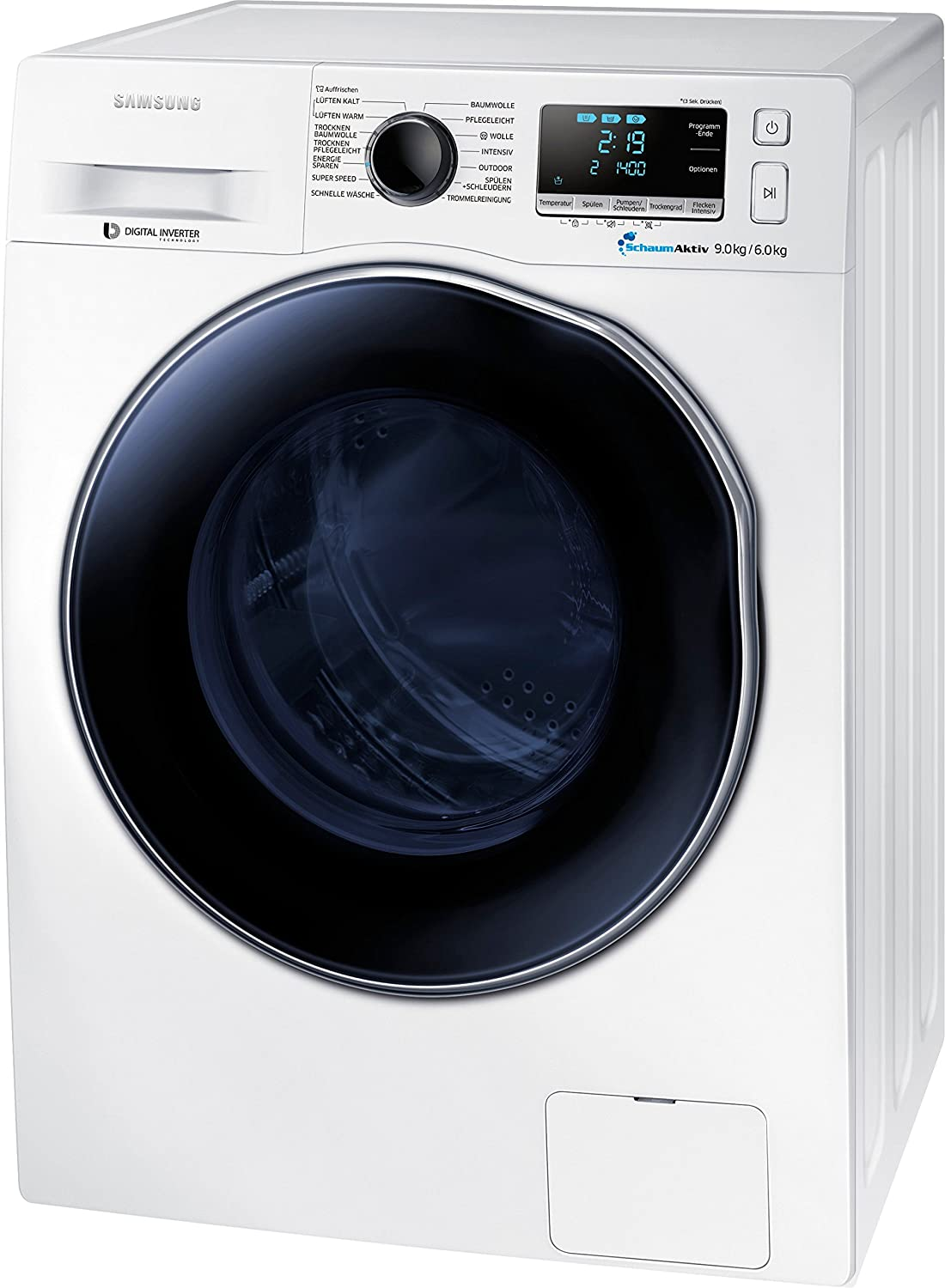Samsung WD90J6400AW Independiente Carga frontal A Blanco ...