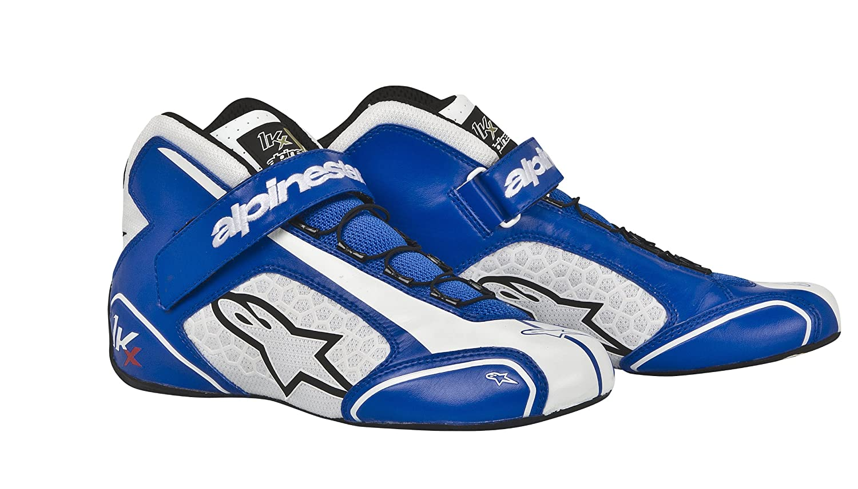 2712113-72-3.5 Blue//White Size-3.5 Tech 1-KX Karting Shoes Alpinestars