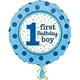 (アムスキャン) Amscan 1歳のお誕生日 First Birthday アルミ風船 パーティー バルーン