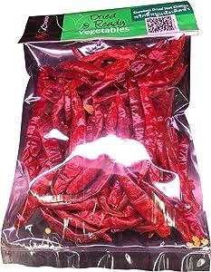Thai Dried Chile Pepper Very Hot Base of Thai food Ingredient 40 gram.(1.4 Oz.)