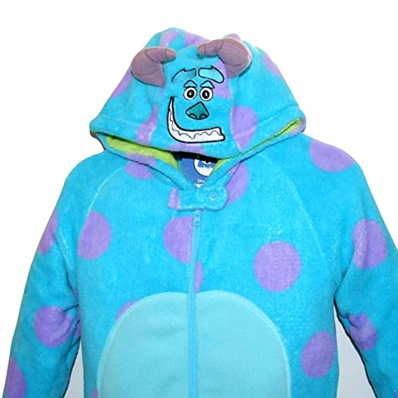 Amazon.com: Primark Essentials Boys Disney Monsters Inc. Onesie Sully Fleece Sleepsuit Costume Pyjamas 9 - 10 Years Purple: Clothing