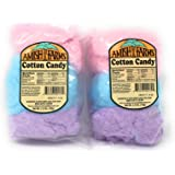 Amish Farms Fluffy, Sweet and Fresh Cotton Candy Bags, 2.5 Ounces (Set of 2)