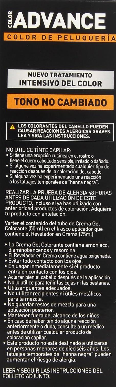 Llongueras Advance Tinte de Cabello Permanente Tono #8.1 Rubio Claro Ceniza