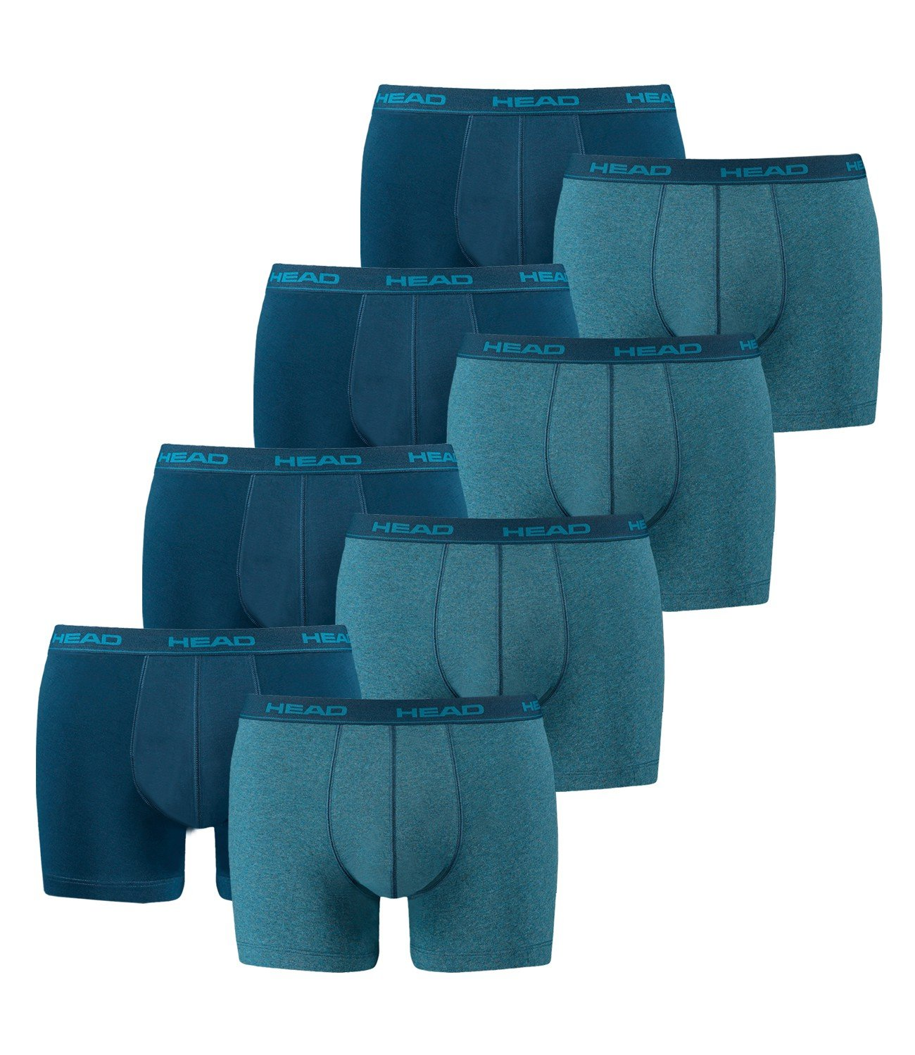HEAD Men's Boxer Shorts 841001001 – Pack of 8