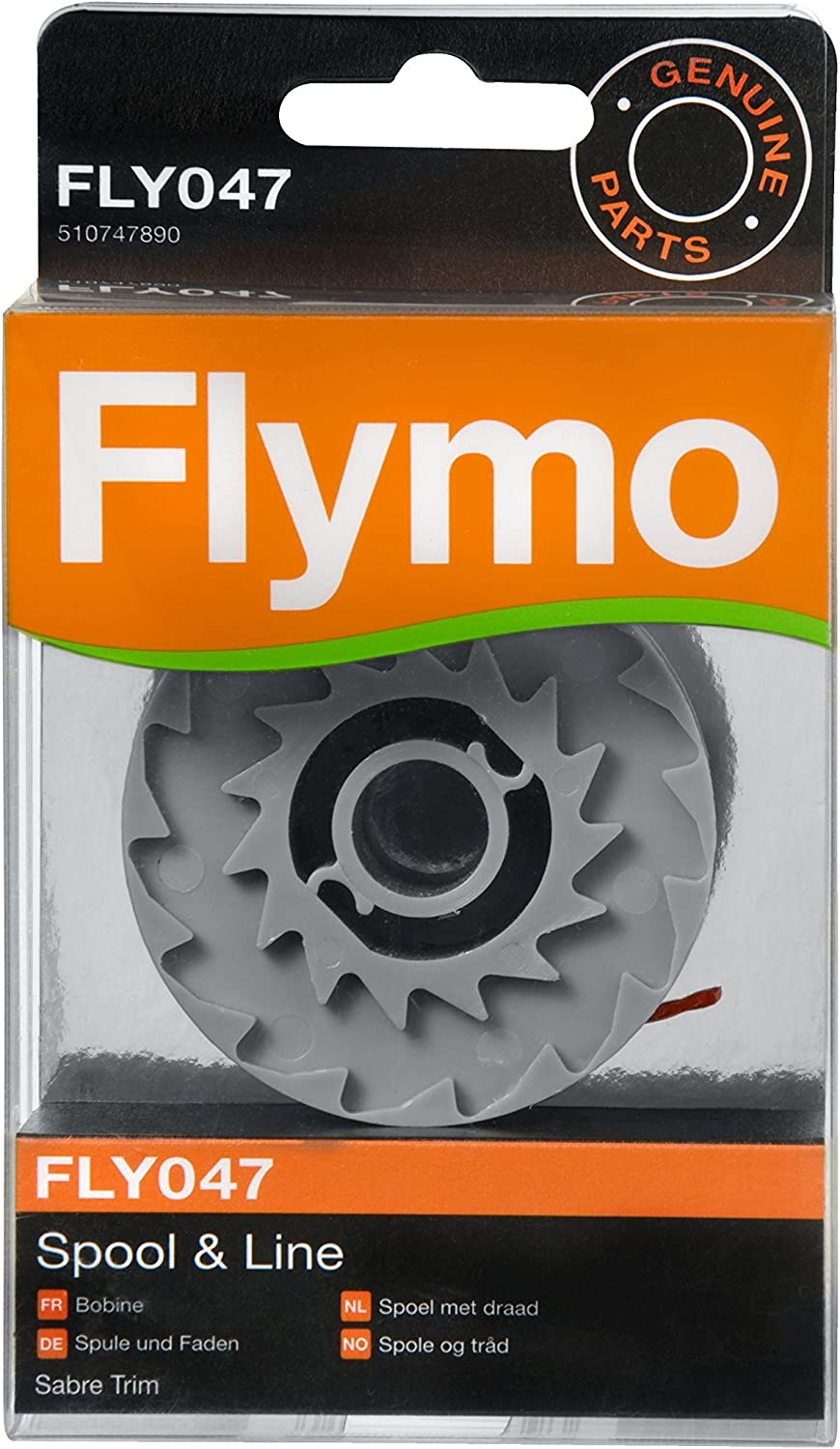 Red Flymo FLY047 Single Line Spool and Line