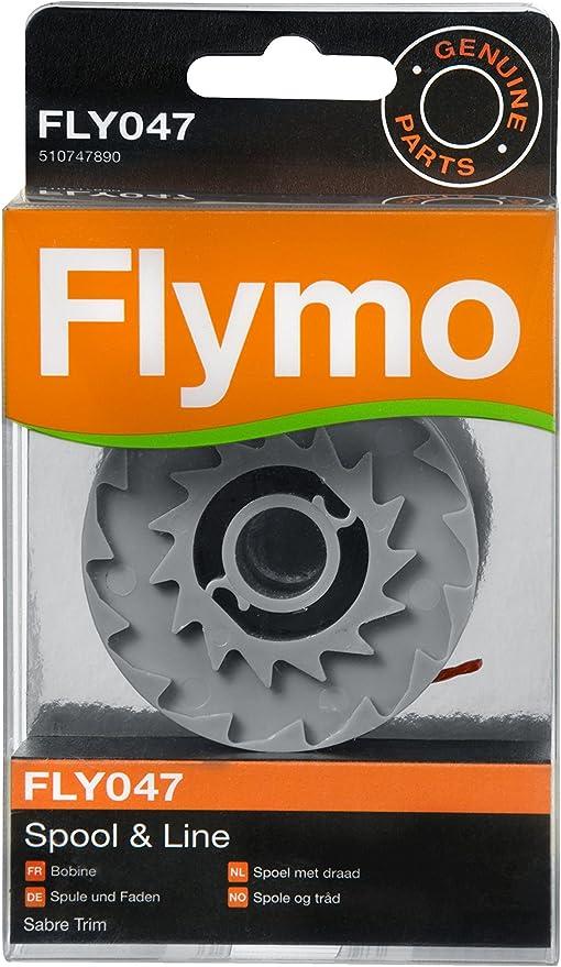 Flymo Sabre Trim Rasentrimmer Spule /& Line 2/St/ück, FLY047