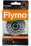 Flymo FLY047 Single Line Spool and Line - Red