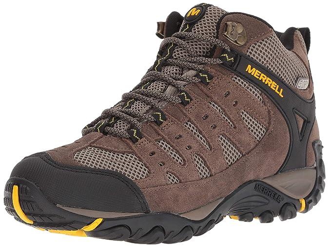 b6710e8ebe6 Merrell Men's Accentor Mid Vent Waterproof Hiking Boot