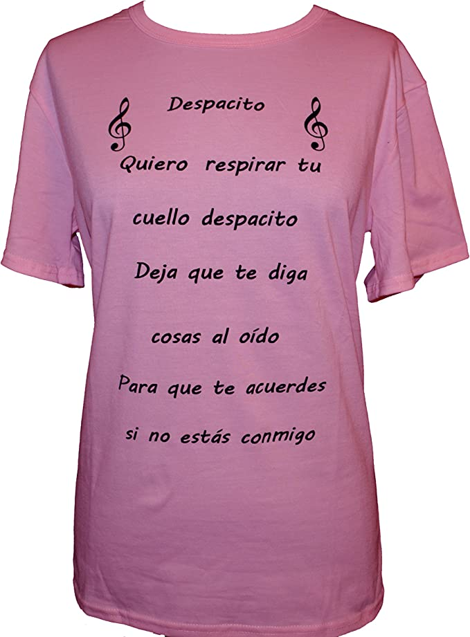 Despacito Funny T shirts Daddy Yankee Song Graphic Tees Clothing Gift Song Lover