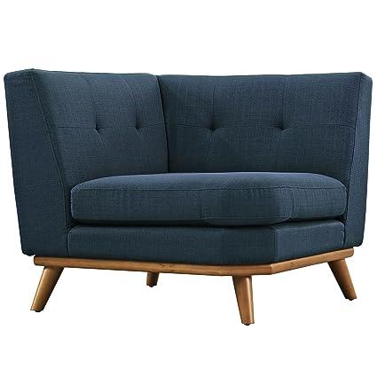 Amazon Com Modway Engage Mid Century Modern Upholstered Fabric