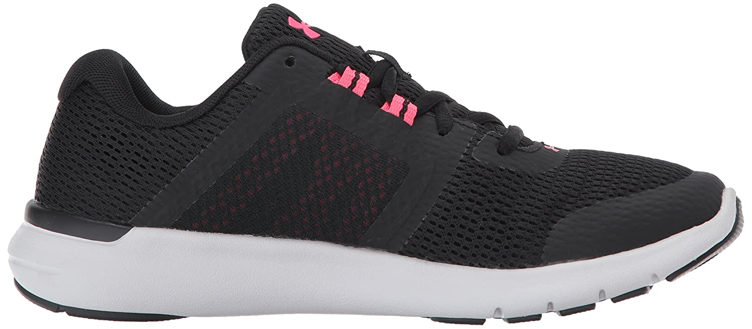 Under Armour Women's Fuse FST Cross-Country Running Shoe B01MROTED0 6 M US Black (002)/Glacier Gray