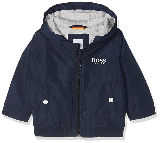 Boss Coupe-Vent, Abrigo Impermeable para Bebés, Azul (Bleu Cargo),