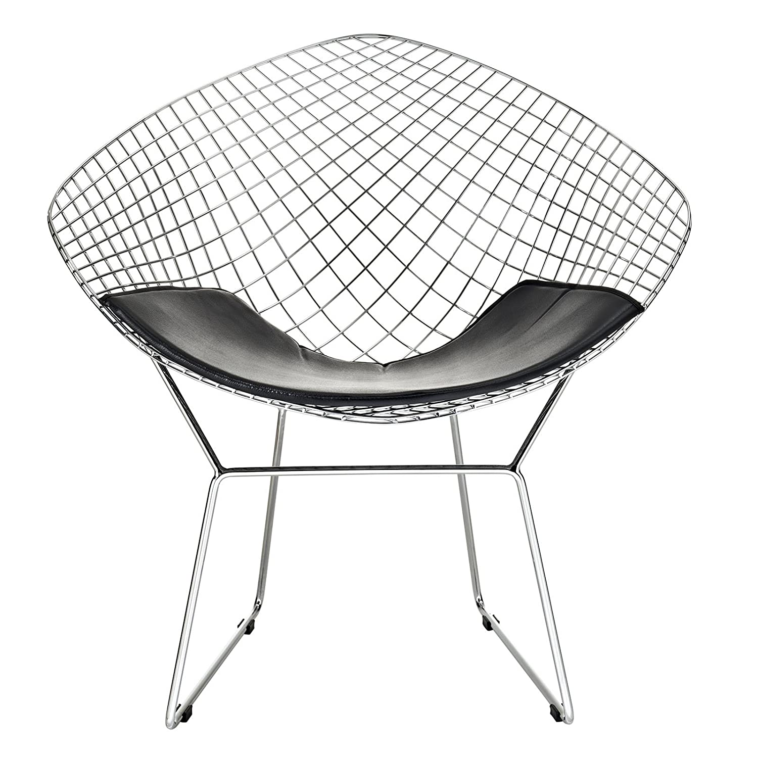 Bertoia diamond chair black - Bertoia Diamond Chair Black 7