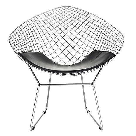 Amazon.com: Modway Bertoia Style Diamond Chair: Kitchen & Dining