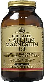Solgar – Chelated Calcium Magnesium 1:1 240 Tablets