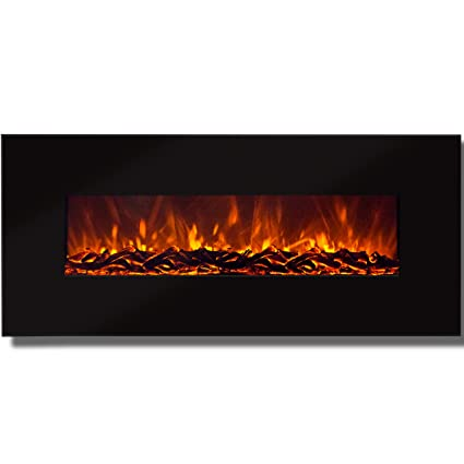 Amazon Com Best Choice Products 50 Electric Wall Mounted Fireplace