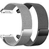 hooroor for Fitbit Ionic Bands Sport Loop Small Large, Breathable Comfortable Adjustable Closure Wrist Replacement WristBands Straps For Fitbit ionic Fitness Smart Watch Women Men More Colors 2 Pack