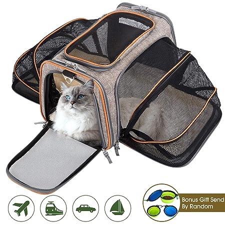 Movepeak - Transportín plegable para perros, gatos y cachorros ...