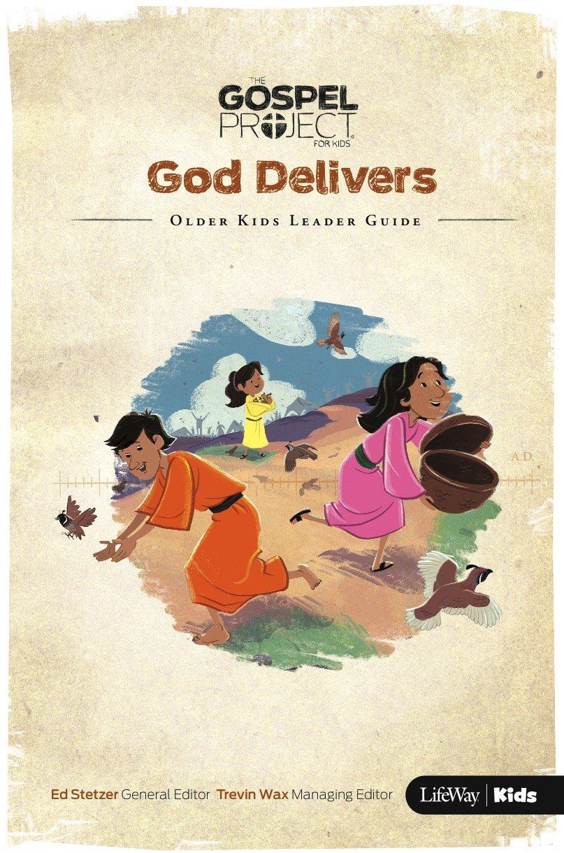 the gospel project for kids volume 2 god delivers older kids rh amazon com Gospel Project Additional Resources Gospel Project Preschool