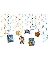 Jake and the Never Land Pirates Hanging Party Decorations, Party Supplies