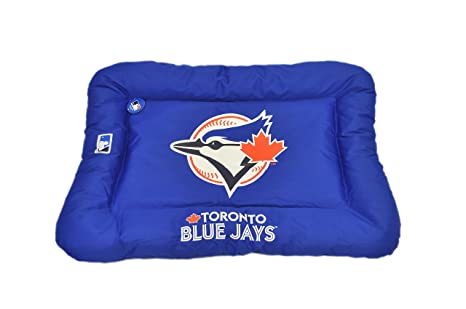 Swell Amazon Com Protect Me Alert Series Mlb Blue Jays Dog Bed Gamerscity Chair Design For Home Gamerscityorg