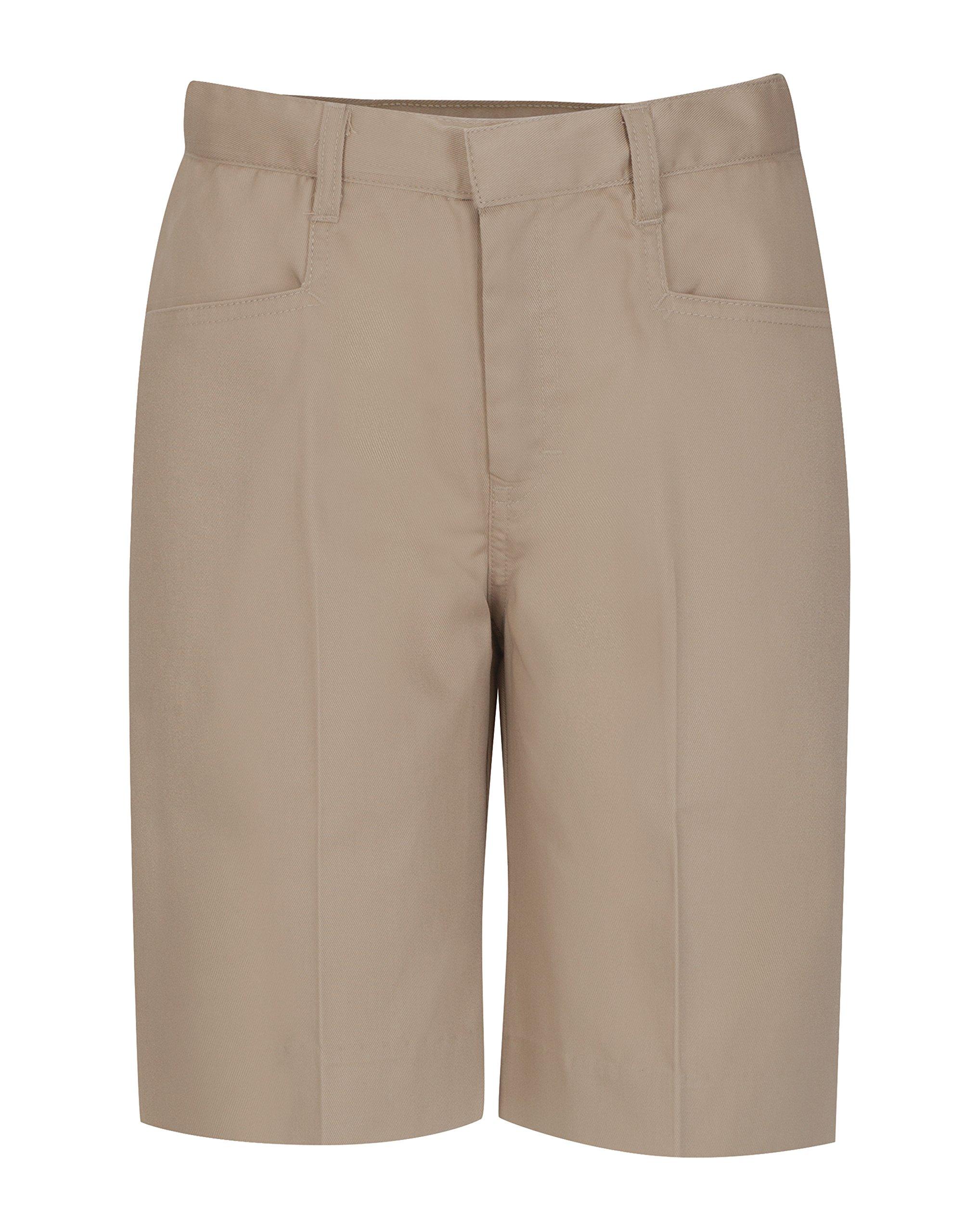 CLASSROOM Big Girls'  Low Rise Bermuda Short Half Size,Khaki,8.5