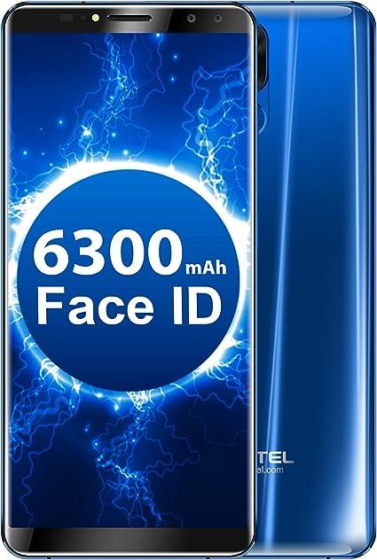 OUKITEL K6 Smartphone Libre 6 Pulgadas FHD(18: 9) Display Face ID ...