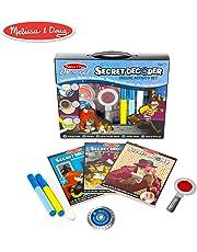 Melissa & Doug On The Go Secret Decoder Deluxe Activity Set (Mystery Super Sleuth Toy, 50+ Activities)