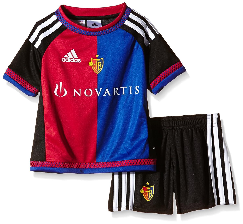 adidas – Chándal Infantil del FC Basel Home Mini Kit: Amazon.es ...