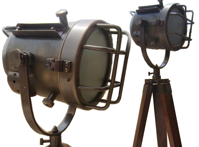 Joli Mod Le De Style Vintage Lampe Spot Amazon Fr Luminaires Et  # Cuisine Vintage Bois Metal