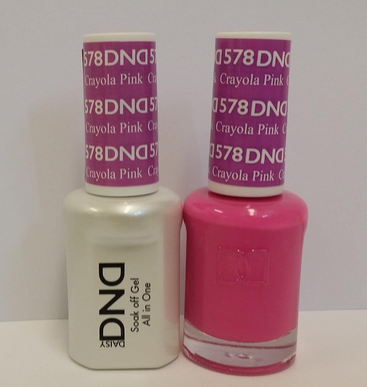 Amazon.com : DND Daisy Duo Soak off Gel and Matching Nail Polish ...