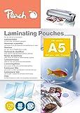 Pochettes brillantes Peach A5, 125 mic, PP525-03, 100 pièces
