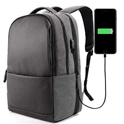 hot sale Anti Theft Laptop Backpack with USB Charging Port RFID Blocking Business Office Travel College School Bag for Laptops Up to 17.3 Inch By 1XD GEAR
