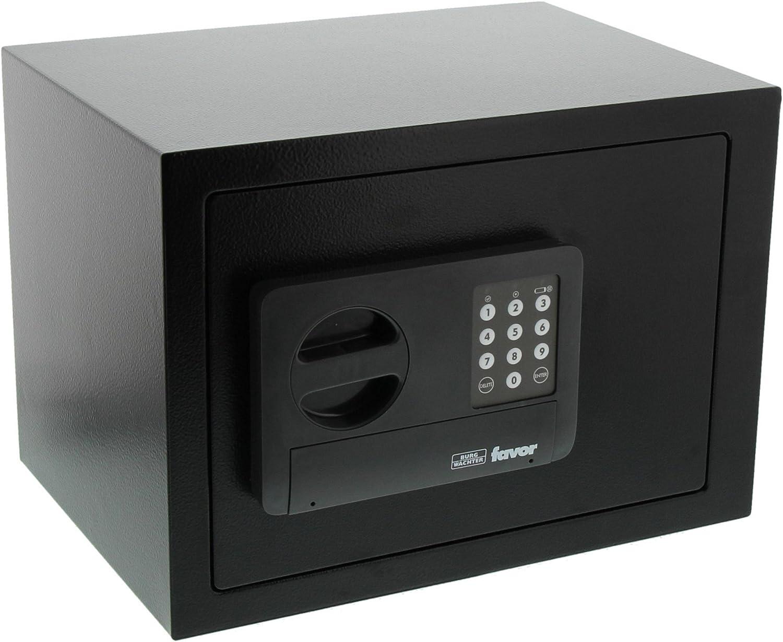Burg-Wächter Favor S5 E Caja Fuerte de Empotrar con Cerradura de Combinación Electrónica, Negro, 250x350x250 mm: Amazon.es: Bricolaje y herramientas