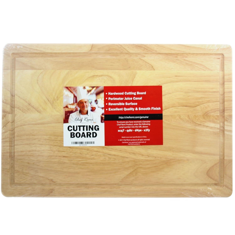 tagliere in legno massiccio 40/x 25/cm Chef Remi