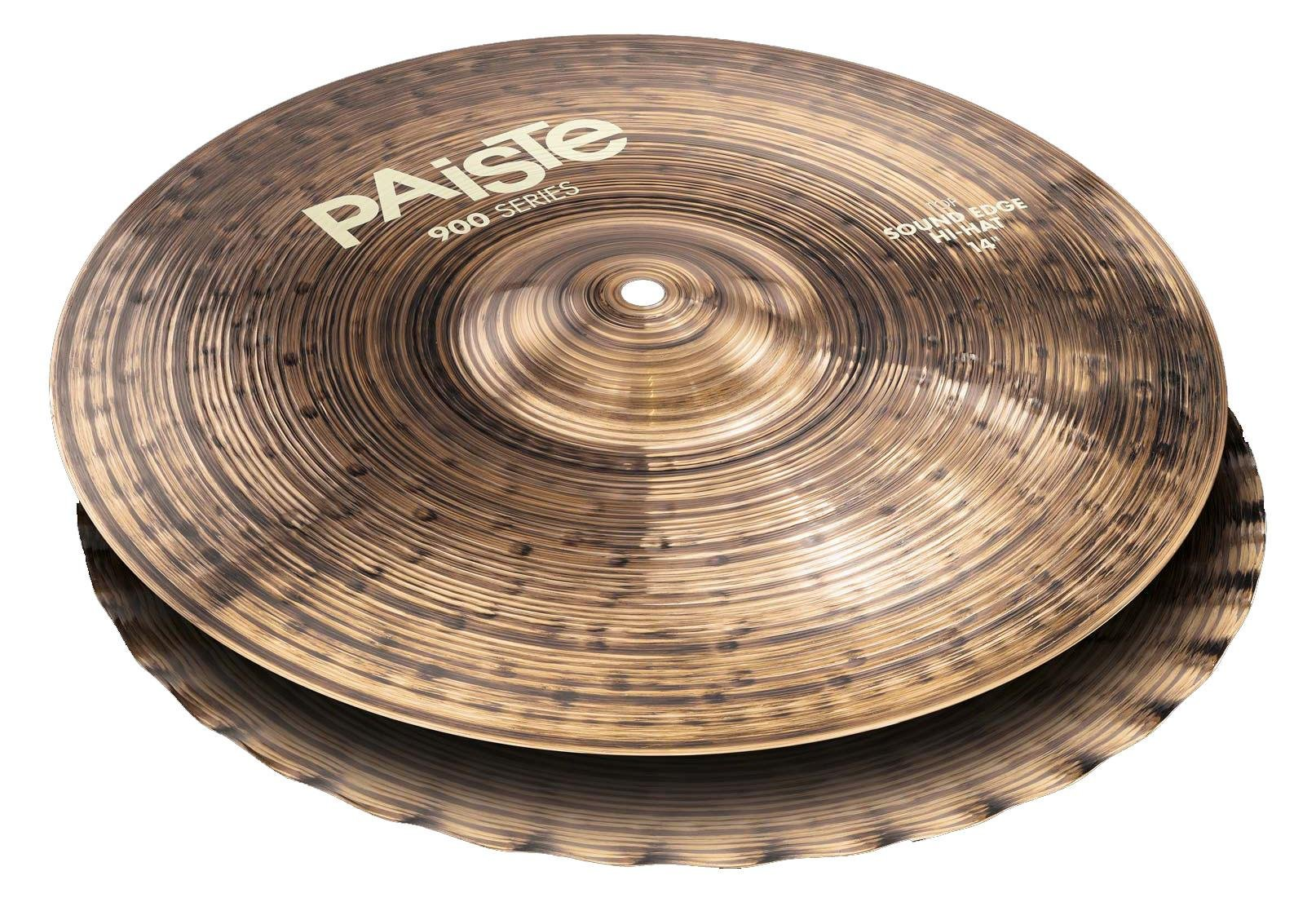 Paiste 14 Inches 900 Series Sound Edge Hi-Hat Cymbals by Paiste