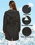 Avoogue Raincoat Women Waterproof Lightweight