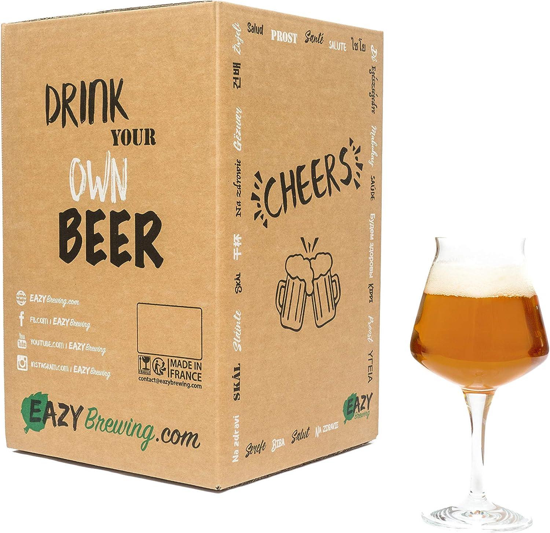 5 Litri Crea la Tua Birra Artigianale a casa Kit per Fare la Birra Stile IPA Eazy Brewing/® India Pale Ale Regalo Originale