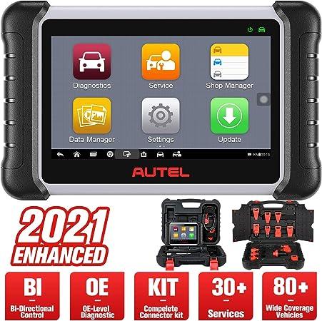 Autel Maxipro Mp808k Aktualisierte Version Von Mp808 Ds808 Obd2 Diagnosegerät Auto Scanner Oe Level Alle Systeme Diagnose 25 Dienstleistungen Bidirektionale Steuerung Autovin Auto