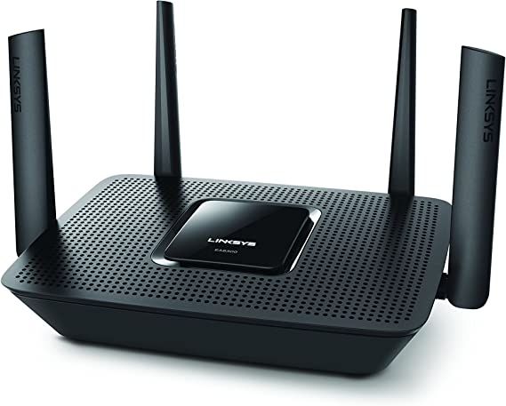 Linksys Tri-Band WiFi Router for Home (Max-Stream AC2200 MU-MIMO Fast Wireless Router)