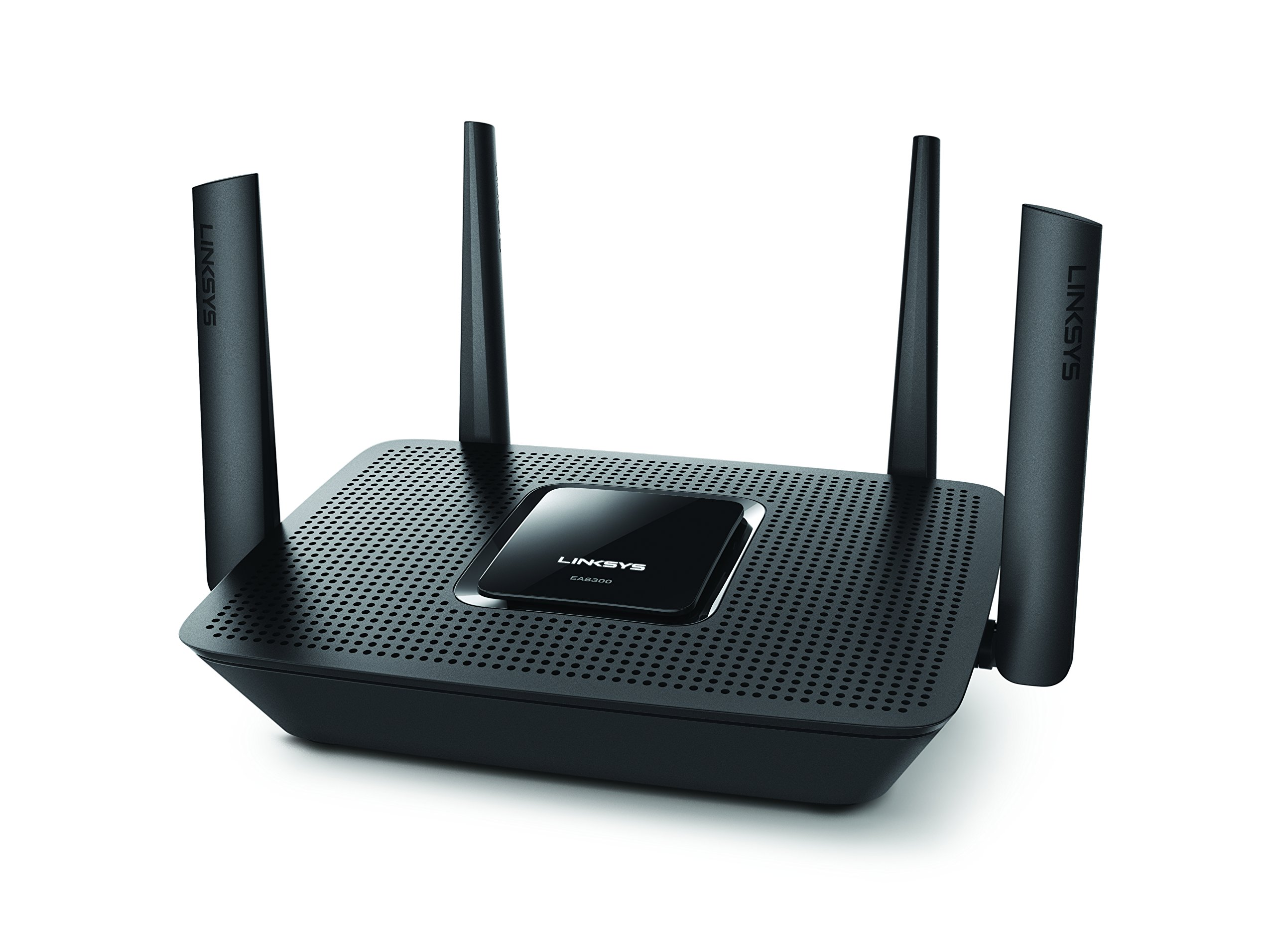 Linksys Max-Stream AC2200 MU-MIMO Tri-band Wireless Router, Works with Amazon Alexa (EA8300) by Linksys